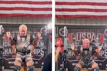 Age is Just a Number: 71-year-old Deadlifts 234 kgs, Sets Four World Records in a Day