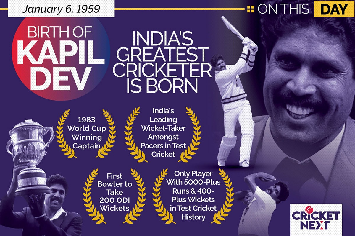 Happy Birthday Kapil Dev: India's Greatest All-rounder Celebrates 62nd Birthday