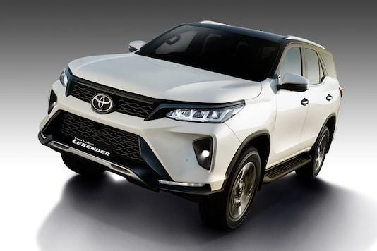 New Toyota Fortuner Legender. (Photo: Toyota)