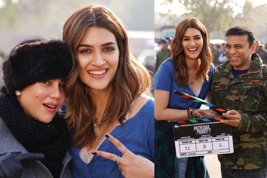 Kriti Sanon Starts Shooting for Bachchan Pandey, Picture From Set Goes Viral