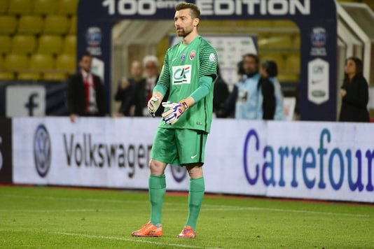 AS Roma director Morgan De Sanctis is in intensive care following a car accident (Photo Credit: AS Monaco Twitter)
