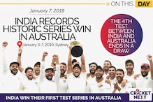 On This Day in 2019: India Record a Historic First Test Series Win in Australia
