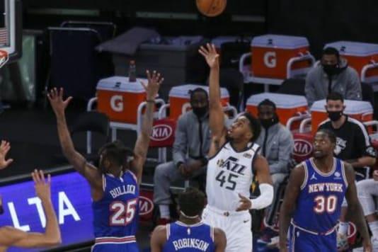 New York Knicks and Utah Jazz (Photo Credit: AP)