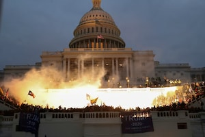 Violence Erupts at US Capitol As Trump Supporters Flock in a Bid to Overturn Election