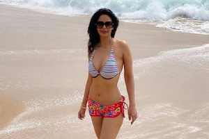 In pics: Mallika Sherawat Welcomes 2021 with a Glamorous Holiday in Kerala