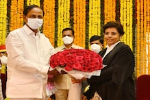 Hima Kohli Becomes First Woman to be Sworn in as Chief Justice of Telangana High Court