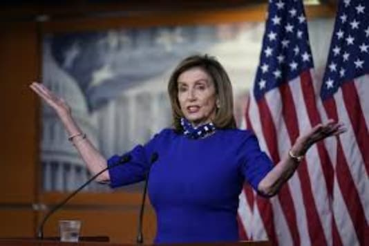 US House Speaker Pelosi's Office Damaged During Capitol Riot