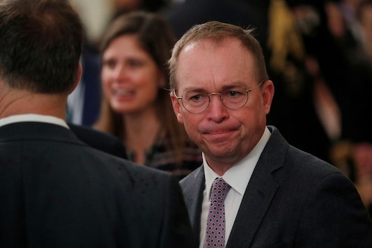 File photo of Mick Mulvaney. (Reuters)