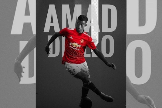 Amad diallo joins Manchester United  (Photo Credit: Amad Diallo Twitter)
