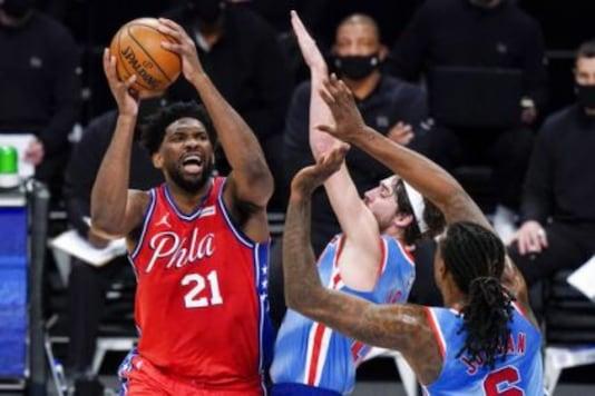 Brooklyn Nets and  Philadelphia 76ers (Photo Credit: AP)