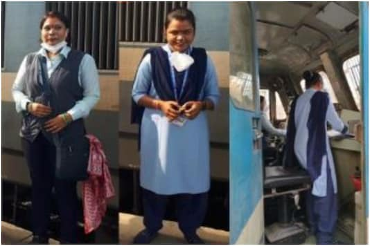 Western Railways just flagged off its first all-women driven goods train | Image credit: Twitter