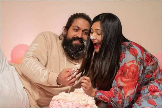 Birthday Boy Yash Gets Special Wish from Wife Radhika Pandit