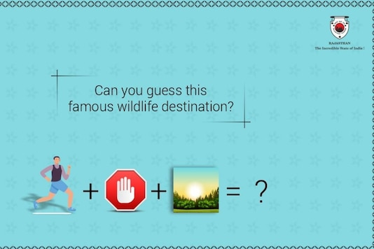 Puzzle shared by Rajasthan tourism shared on Twitter. (Credit: @my_rajasthan /Twitter)