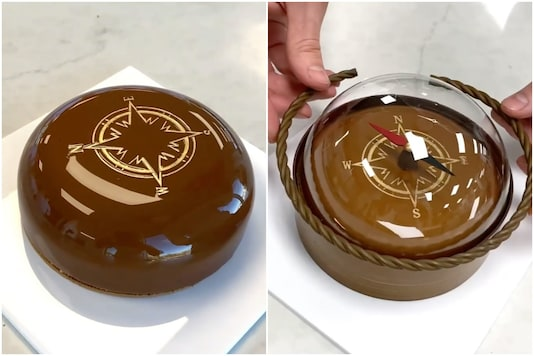 Chocolate compass | Image credit: Instagram