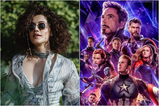 Taapsee Pannu Wants to be Recruited by Avengers!