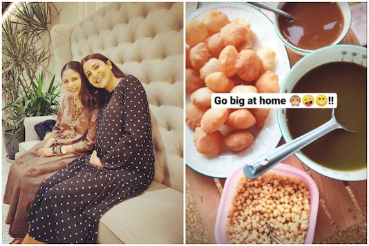 After Pizza Cravings, Pregnant Anushka Sharma is 'Going Big at Home' with Coconut Water and Panipuri
