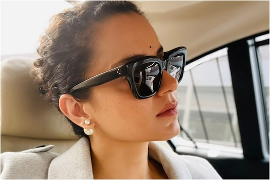 File photo of actor Kangana Ranaut.