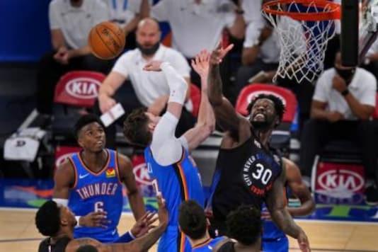 Oklahoma City Thunder, York Knicks (Photo Credit: AP)