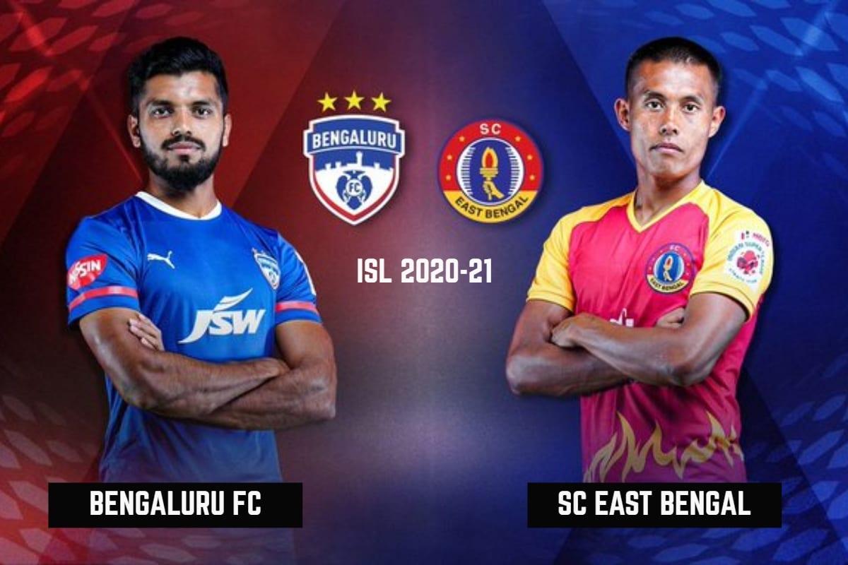 ISL 2020-21 Live Score, Bengaluru FC vs SC East Bengal: Matt Steinmann Gives East Bengal 1-0 Lead