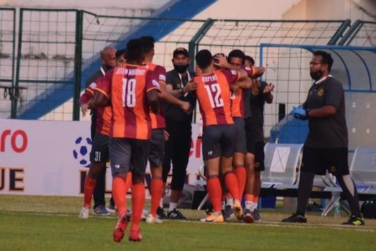 Punjab FC (Photo Credit: I-League Twitter)