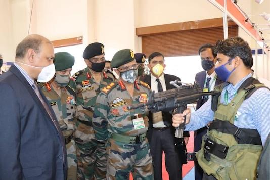 General MM Naravane COAS visited Armament Research and Development Establishment (ARDE) & Bharat Forge in Pune. (Image: Twitter/ADGPI)