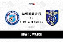 ISL 2020-21: How to Watch Jamshedpur FC vs Kerala Blasters Today's Match on Hotstar, JioTV Online