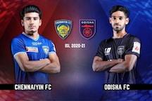 ISL 2020-21 HIGHLIGHTS, Chennaiyin FC vs Odisha FC: Chennaiyin, Odisha Play Out 0-0 Draw