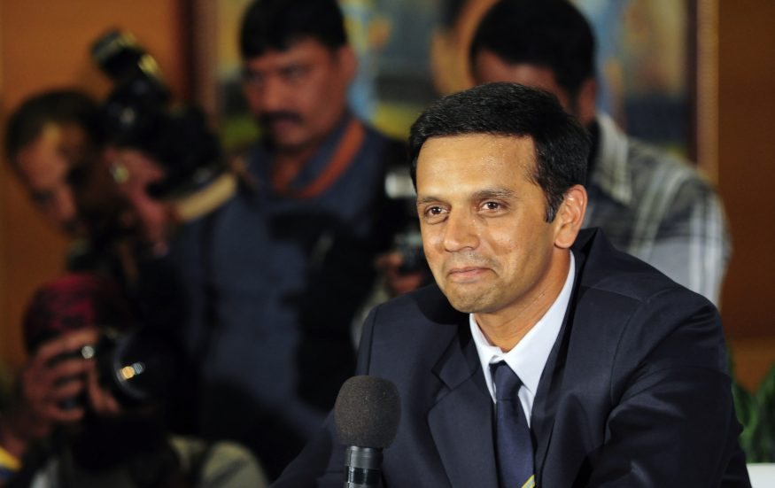 Rahul 'The Wall' Dravid turns 48 today. The Indian cricket legend may have retired but his fan following hasn't stopped growing. After his days as a player, he moved on to coaching younger talent. Take a look at some photos from his days as a cricketer and from off the field. (Pictured) Announcing his retirement from international cricket in 2012. (Image: Reuters)