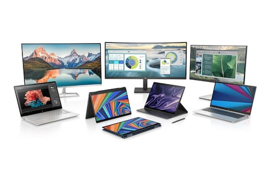 New HP products that have been launched for CES 2021. (Image Credit: HP)