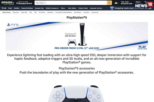 Sony PlayStation 5 Goes On Preorder Tomorrow On Amazon.in With EMI Offers For HDFC, ICICI And SBI Cards