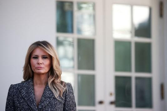 File photo of Melania Trump. (Reuters)