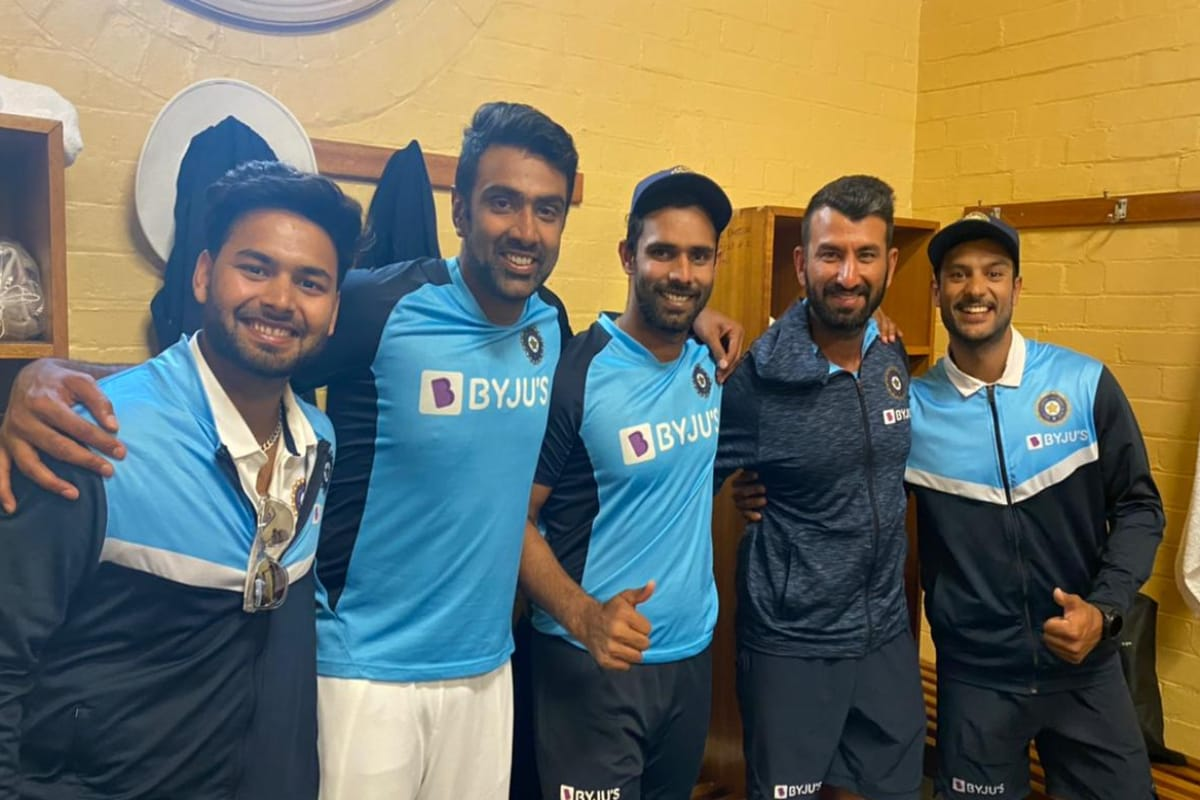 India vs Australia: WATCH-Team India Celebrates Inside Dressing Room After SCG Draw
