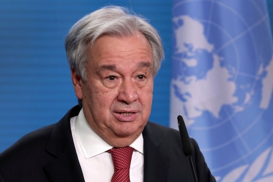 File photo of UN Secretary-General Antonio Guterres. (Reuters)