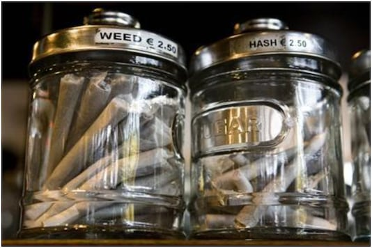 Cannabis coffee shots may shut down for outsiders in Amsterdam   Image credit: Reuters