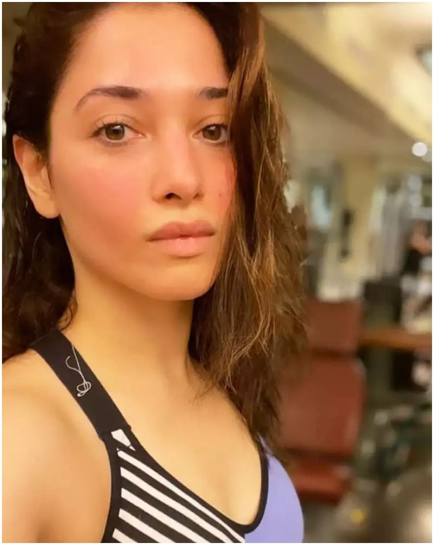 Staying in shape and keeping themselves fit has become the biggest goal inshobiz apart from just acting. Actresses undergo tremdous fitness regime to be physically fit to play their character. Southern beauty Tamannaah Bhatia keeps sharing her fitness secrets with her fans via Instagram. Here we take a look at the some of her pictures from her fitness routines. Take a look. (Image: Instagram)