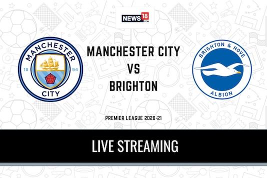 Premier League: Manchester City vs Brighton and Hove Albion