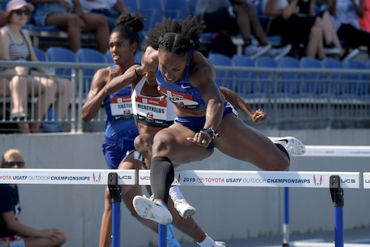 Brianna Rollins-McNeal (Photo Credit: Reuters)