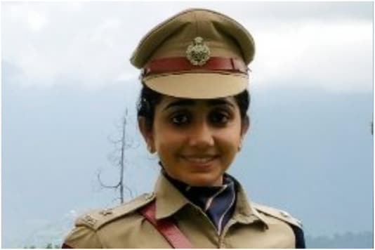 IPS officer Aishwarya Dongre assumed the role of Kochi's Deputy Commissioner on January 1, 2021 | Image credit: Twitter