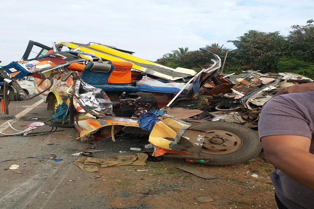 13 Killed In Road Accident In Karnataka U0026 39 S Dharwad PM Modi