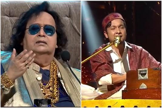 Indian Idol 12 Contestant Pawandeep Ranjan Gets Gold Chain from Bappi Lahiri