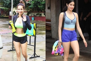 Bollywood Actress in Hottest Gym Clothes: Malaika Arora, Janhvi, Sara Ali & Others