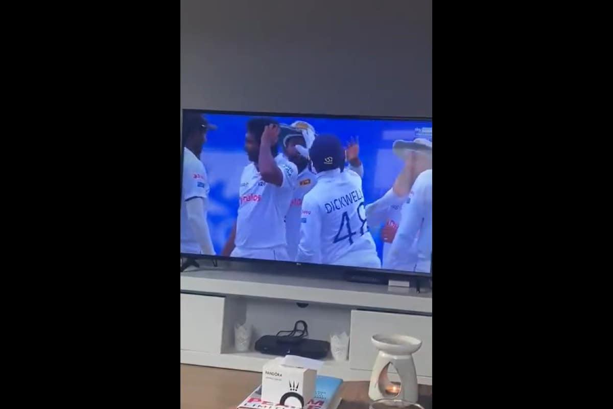 WATCH - Sri Lanka's Niroshan Dickwella Mistakenly Slaps Teammate During Celebration