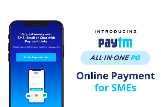 Paytm all-in-one payment gateway for SMEs