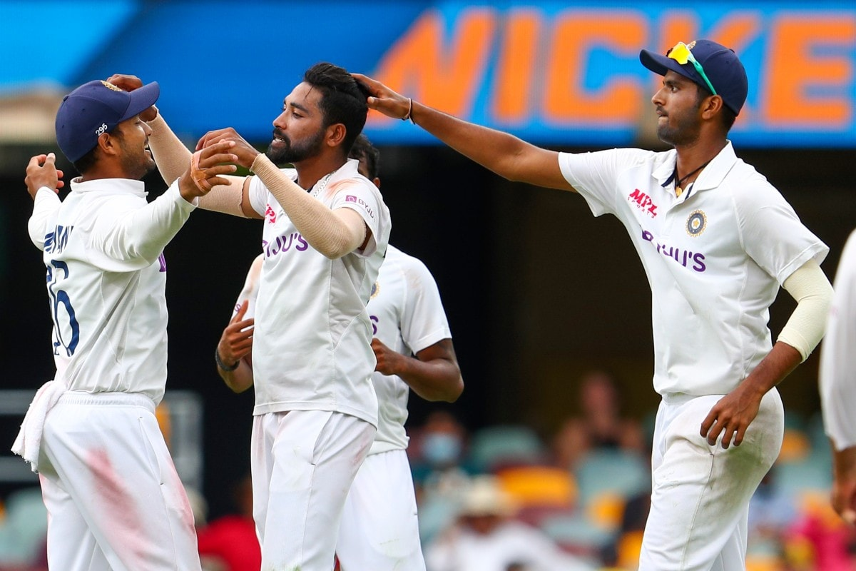 India vs Australia: IN PICS - Mohammed Siraj Stars as AUS Set IND Target of 328 to Win at Brisbane