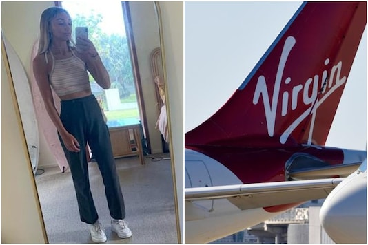 Woman stopped from boarding Virgin Airlines flight as pilot disapproved of her clothes | Image credit: Twitter/Reuters