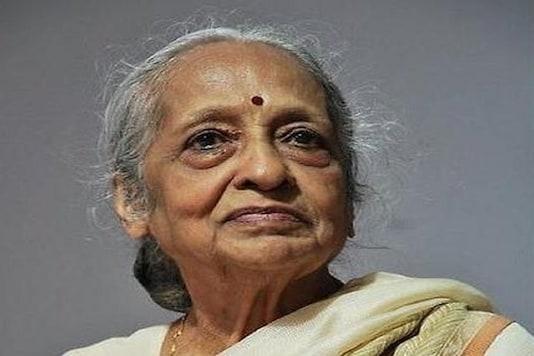 Dr V Shanta passed away in Chennai on Tuesday.  (Photo: Twitter)