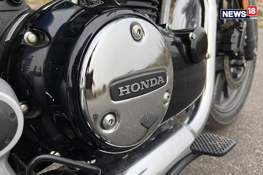 Honda H'ness CB350. (Photo: Prashant Rai/News18.com)