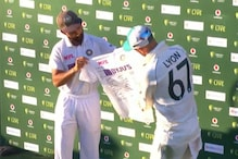Australia's Nathan Lyon Shares Photo of Jersey Signed by Indian Players