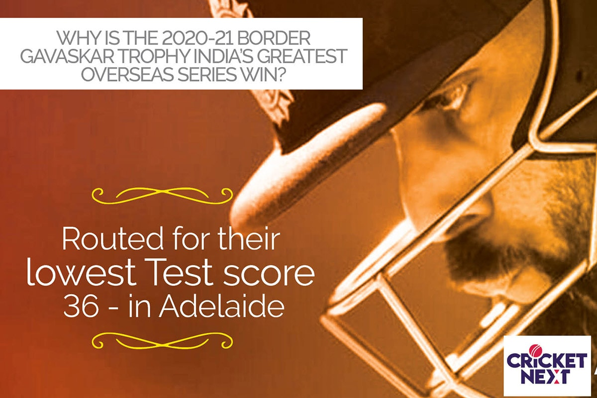 From Adelaide's 36 All Out to Brisbane 329/7 - Why This is India's Greatest Test Series Win