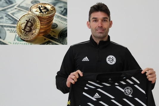 David Barral , first-ever player to be purchased using the decentralized digital currency (Photo Credit: Twitter)
